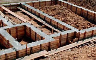 Пропорции бетона на фундамент