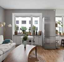 Интерьер однокомнатной квартиры 30