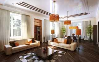 Комната с тремя окнами дизайн