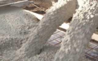 Какой марки нужен бетон для фундамента
