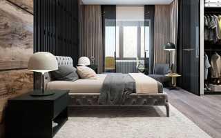 Мужские интерьеры комнат