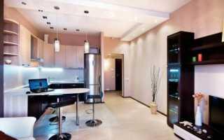 Интерьер кухни 18 метров
