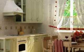 Кухня прованс небольшая