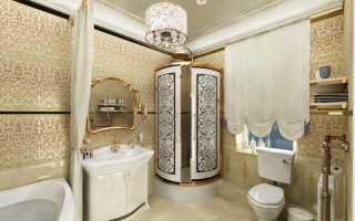 Дизайн ванной стеновыми панелями