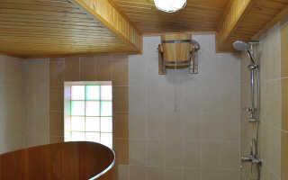 Плитка в помывочную в баню