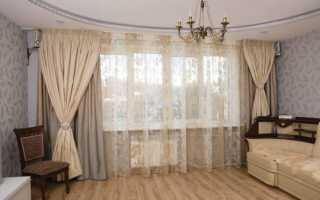Дизайн тюля в спальню