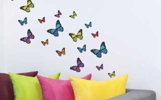 Дизайн квартиры бабочки