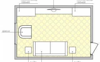 Дизайн интерьера 18 кв м