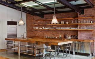 Кухни без верхних шкафов фото в интерьере