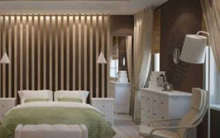 Дизайн комнаты в теплых тонах