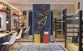 Дизайн комнаты для двоих мальчиков