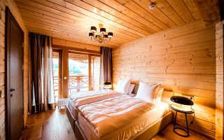 Материалы для деревянного потолка