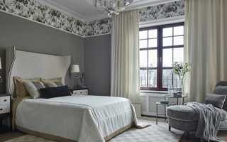 Как подобрать шторы к серым обоям