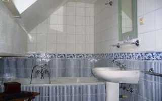Экономная ванная комната