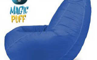 Синее кресло в интерьере