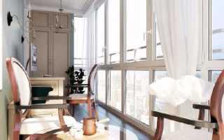 Дизайн французского балкона