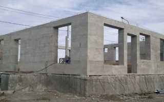 Материал стен бетон