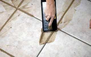 Как быстро затирать швы на плитке