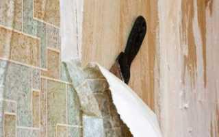 Технология оклеивания стен обоями