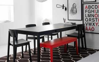 Интерьер комнаты с мебелью икеа