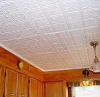 Панели для потолка из пенопласта