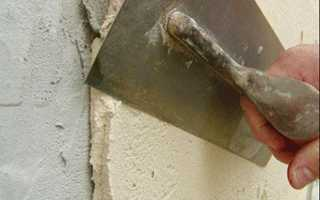 Шпаклевка по цементной штукатурке