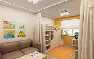 Дизайн детской зоны