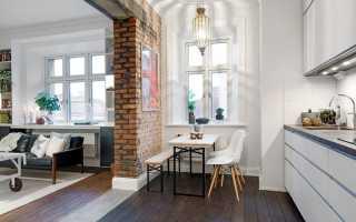 Дизайн планировки однокомнатной квартиры
