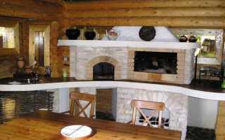 Комната с печкой дизайн