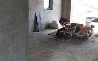 Плотность цементной штукатурки