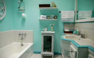 Как покрасить ванную комнату дизайн