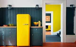 Обклеить холодильник обоями