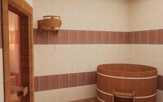 Плитка для бани на стену