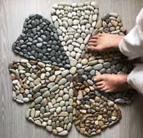 Декор из камней своими руками