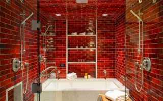Интерьер маленькой ванны без туалета
