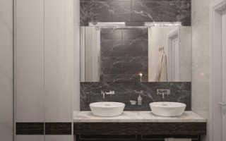 Дизайн ванной в коттедже