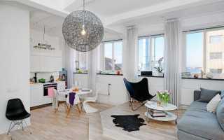 Дизайн интерьера 30 кв м