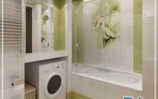Дизайн ванны в однокомнатной квартире