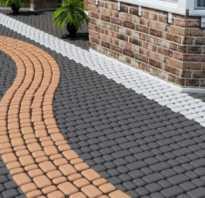 Какой цемент для тротуарной плитки