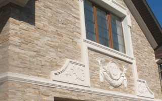 Декор на стену из пенопласта