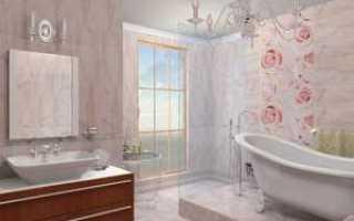 Ремонт ванной комнаты панелями пвх своими руками