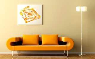 Интерьеры с картинами на стене