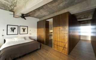 Натяжные потолки под бетон