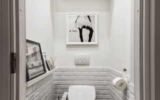Шкаф в туалете дизайн