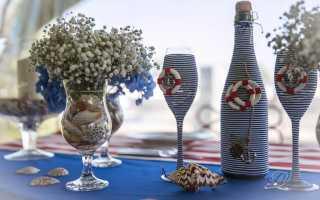 Декор и декупаж бутылок