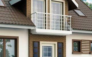 Дизайн балкона частного дома