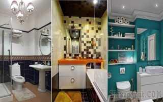 Идеи ванной комнаты для малогабаритных помещений