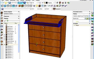 Дизайн мебели программа