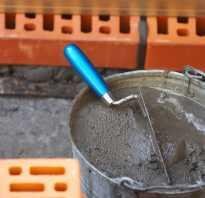 Расход цемента на кладку