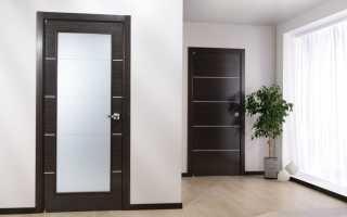 Светло коричневые двери в интерьере